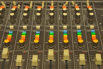 table de mixage