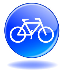"""Bouton web rond """"VELO"""" (vélo écologique éco cyclisme)"""