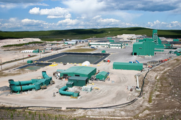 Uranium Mine Site in Northern Canada