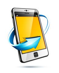concept téléphone portable