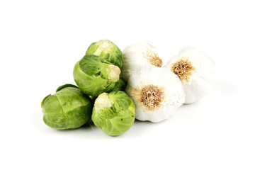 Garlic and Sprouts
