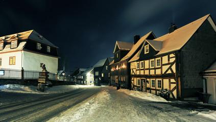 Bad Berleburg bei Nacht