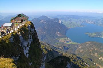 Austria, view from Schafberg, Mondsee