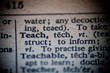 Definition of Teach