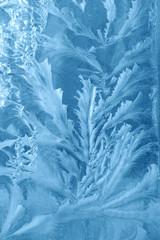 Frosty background on window