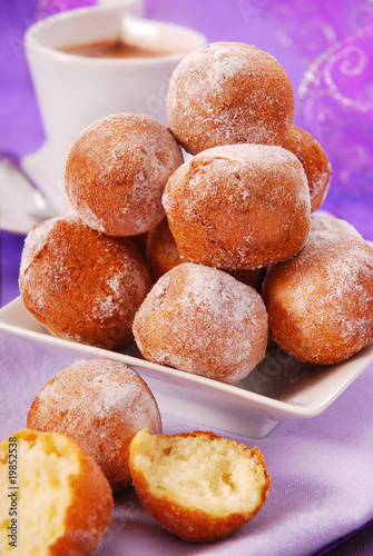 small homemade donuts