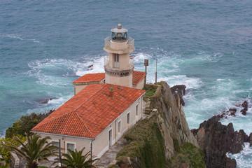 Faro de Cudillero, Asturias, Spain