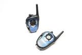 Talkie walkie bleu poster