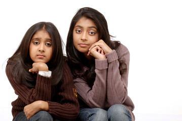 two young indian girls
