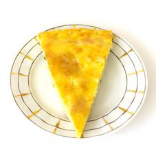 piece of pie on dish