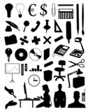 Office subjects poster