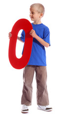 "Letter ""O"" boy - See all letters in my Portfolio"