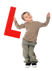"Letter ""L"" boy - See all letters in my Portfolio"