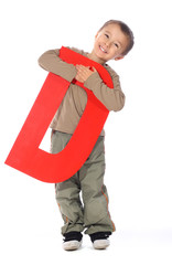 "Letter ""D"" boy - See all letters in my Portfolio"
