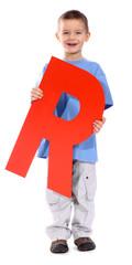 "Letter ""R"" boy"