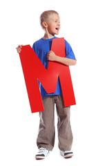 """Letter """"M"""" boy"""