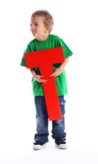 "Letter ""T"" boy - See all letters in my Portfolio"