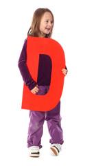 """Letter """"D"""" girl"""