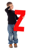 "Letter ""Z"" boy - See all letters in my Portfolio"