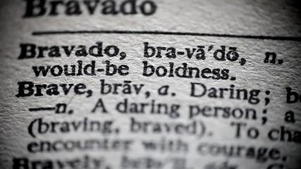 Definition of Brave