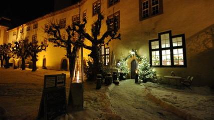 Schloss Bad Berleburg bei Nacht