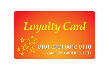 Loyalty Points reward card