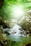 Fototapety Natural Spring Waterfall