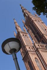 Marktkirche in Wiesbaden, Hessen, Deutschland, Europa