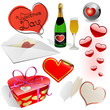Valentine's day vector set.