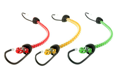 Colorful bungee rope cords