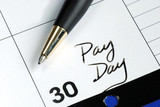 Today is the pay day of the month