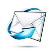 Concept e-mail courrier électronique