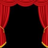 curtain fringe poster