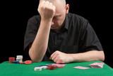 losings in poker poster