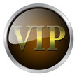 VIP badge vector illustration