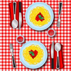 Love's spaghetti