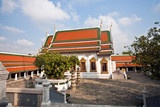 temple Phra Sri Ratana Chedi  in the inner Grand Palace poster