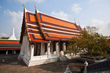 temple Phra Sri Ratana Chedi covered in the inner Grand Palace poster