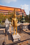temple Phra Sri Ratana Chedi and Kinaree in the Grand Palace poster
