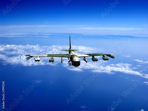 Fotobehang Extreme Sporten The plane