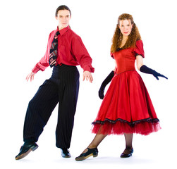 Boogie-voogie dancers