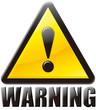 警告 WARNING