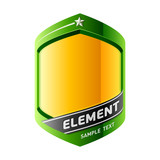 The element of a design. Vector. Insert your information. poster