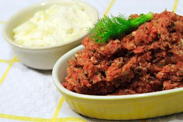 carne macinata con grana per polpette