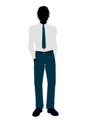 Business Man Silhouette