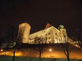 Wawel Hill by night - Krakow poster