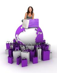 World shopping queen