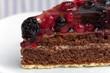 torte mit Beeren(Waldfrüchte)