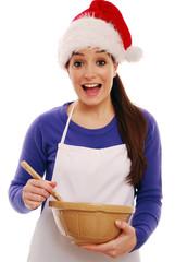 Fun cooking at Christmas