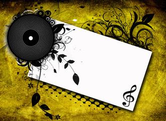 volantino musica grunge